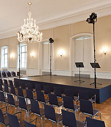 Picture: Hubertus Hall, stage